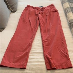 Polo Womens Classic Red Chinos